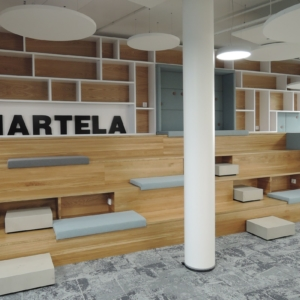 Hartela office, stairs