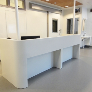 Malmi hospital, Helsinki, counterdesk