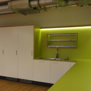 Nordea Bank Helsinki, kitchen