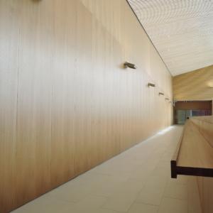 Nurmijärven Monitoimitalo, wall panels 1