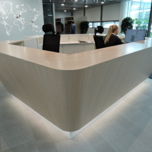 Fennia, reception desk 4